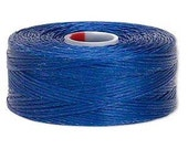 C-Lon Size #D Nylon Beading Thread - Royal Blue