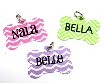 Custom Pet Tag - Personalized Dog Tag - Dog tag with name and phone number - Two-sided