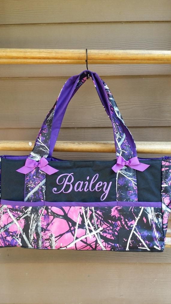Handmade Diaper Bags : Muddy girl camo diaper bag baby custom handmade