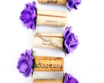 Purple Wedding Place Card Holder, Plum Wedding, Fall Wedding Decor, Fall Wedding Ideas, Autumn Wedding, Eggplant Wedding,  Vineyard Wedding