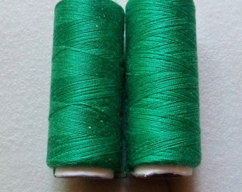 Green Sewing Thread-Polyester-Emerald Green