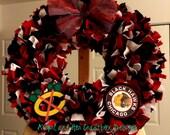 Chicago Blackhawks Wreath