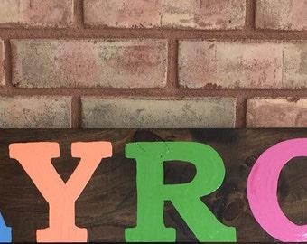 Playroom Sign/ Wall Art/ Kids Room