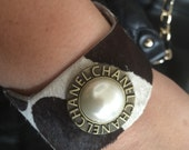 Vintage Chanel button cuff