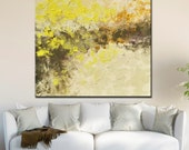 "Original OIL  Painting Large  Abstract Landscape Painting 36"" x 36""  Canvas by Claire McElveen"