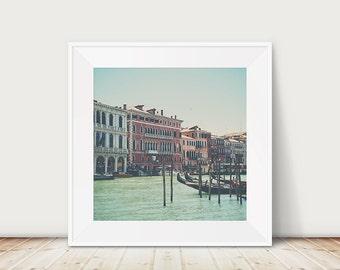 Venice photograph gondola photograph grand canal photograph Venice print Venice decor Italy photograph Italian decor gondola print