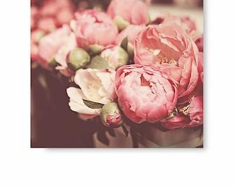 Peonies Wall art, Peony Photography, Flower Photo, flower decor, flower print, nature print, fine art photography, flower photo, wall decor