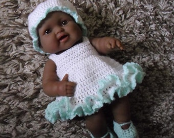 PDF crochet pattern for 14 inch Berenguer Lots to Love Baby doll