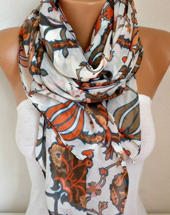 Tulip Cotton Scarf Soft Shawl Fall Scarf Cowl Oversize Wrap Gift Ideas For Her Women Fashion Accessories,Christmas Gift,Women Scarves