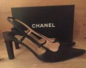 C H A N E L Classic Sling Back Shoe