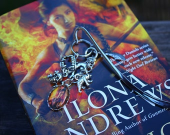 Magic Rises Inspired Book Mark - Kate Daniels Series - Ilona Andrews - Urban Fantasy - Custom Bookmark - Custom Swag - Themed Book Thong
