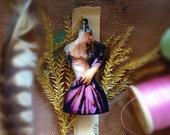 Dreamy Dressform Lasercut Wood Pin