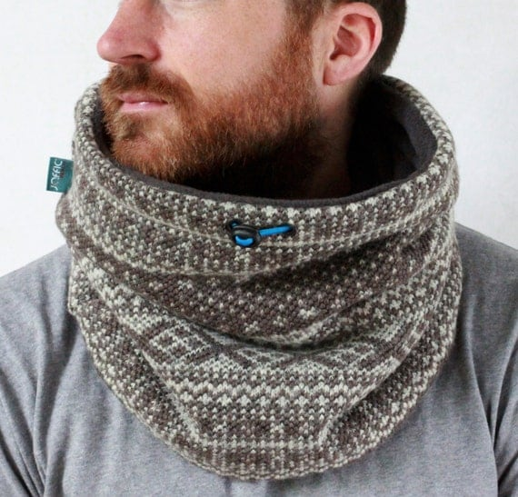 Snock®, unisex, mens winter accessories, cowl scarf, mens cowl scarf, wool cowl, mens neckwarmer, scarf, warm mens scarf, wool scarf