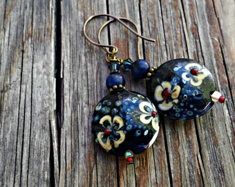 Old Fashioned Summer Romance Earrings