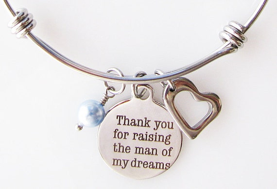 Mother Of The Groom Gift: Mother Of The Groom Gift Thank You For Raising The Man Of My
