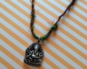Ganesh on Indian String Removes Obstacles Amulet