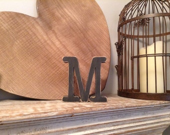 Stock Clearance - Sold As Is - Wooden Letters - letter M
