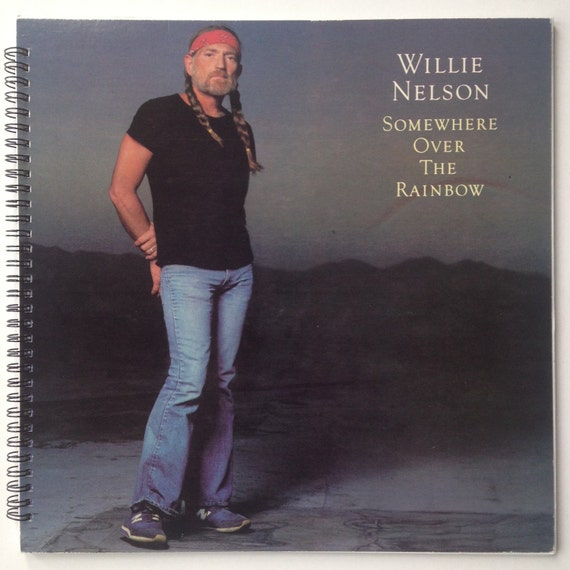 My Way Willie Nelson: Willie Nelson Recycled Record Album Cover Book By
