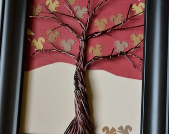 Squirrels Add-on Pack for Family Tree Frame Kits