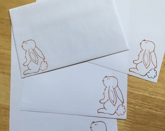 Bunny Letter/Writing Set
