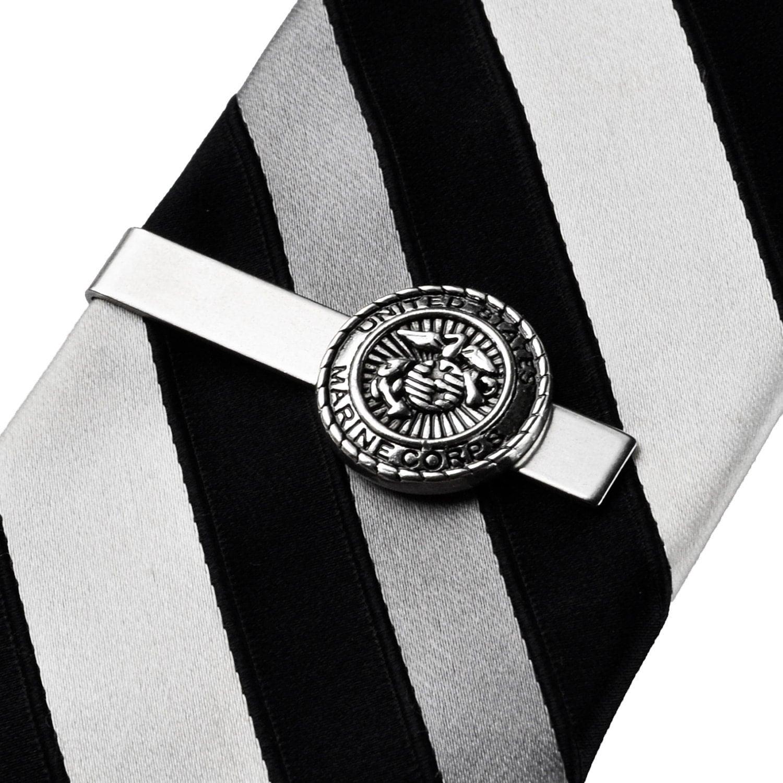 marine corps tie clip tie bar tie clasp business by mancornas