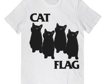 CAT FLAG T Shirt