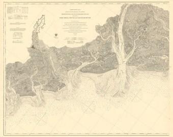 Port Royal Sound and Savannah River 1873