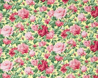78065 - Verna Mosquera Snapshot collection rose garden in butter PWVM113 - 1 yard