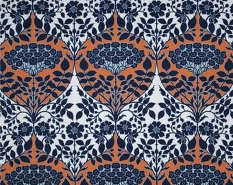 54024 - Joel Dewberry Botanique collection PWJD088 Leafy damask in apricot color - 1 yard
