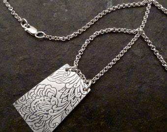Kala Necklace ~ Japanese Lotus