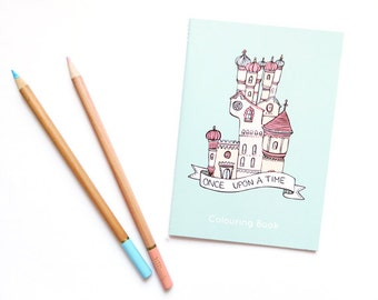 SALE Once Upon a Time Colouring Book