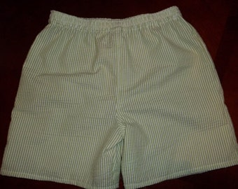 Seersucker Stripe Shorts - Infant and Toddler Shorts - Sizes 12 Months to 5 - Many Colors Available