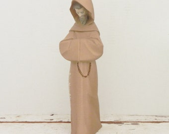 Lladro Figurine - Franciscan Monk - Rare Retired Lladro