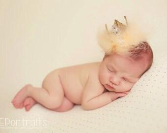 new born prince/princess crown,new born crown