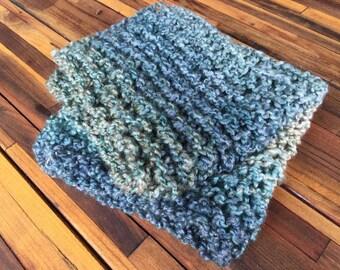 thick knitted mini blanket,bump blanket,basket filler