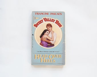 Sweet Valley High Head Over Heels Book Francine Pascal