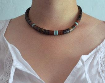 Vintage Native American Bead Necklace