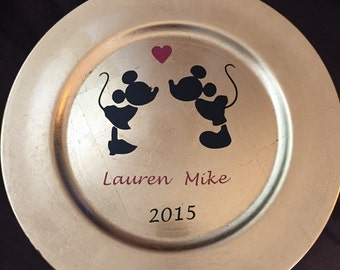 Personalized Decorative Plate