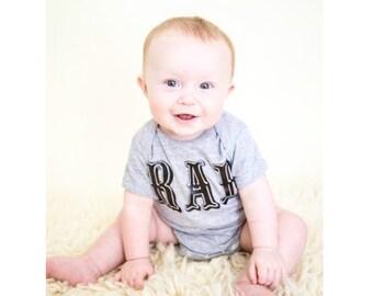 RAD onesie or toddler tee shirt