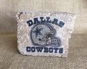 Cowboys Mini Brick Stone decor