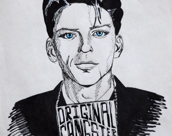 Frank Sinatra Original Gangster Print