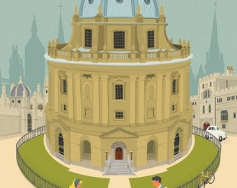 Oxford Greetings Card - Radcliffe Camera