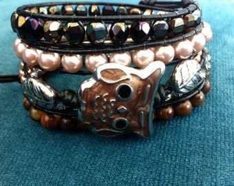 It's a Hoot 5 wrap bracelet