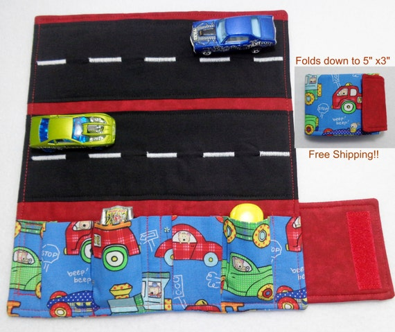 Fire trucks cars and train print fabric car wallet car for Train print fabric