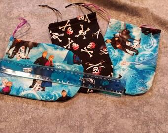 Large hand sewn Tarot bags