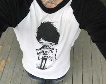 Starving Artist Baseball Sleeve Shirt