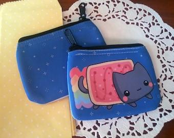 chibi Nyan Cat coin purse / wallet