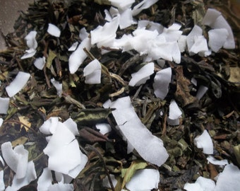 Madagascar Vanilla White tea with Coconut Undertones- yummy Coconut Cream Pie.