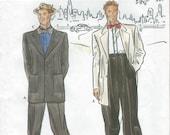 UNCUT Simplicity 8879 Retro Fashion Collection Zoot Suit Pattern SZ 38-44