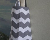 nursing cover breastfeeding cover up apron like  hooter hiders gray white  chevron Sale